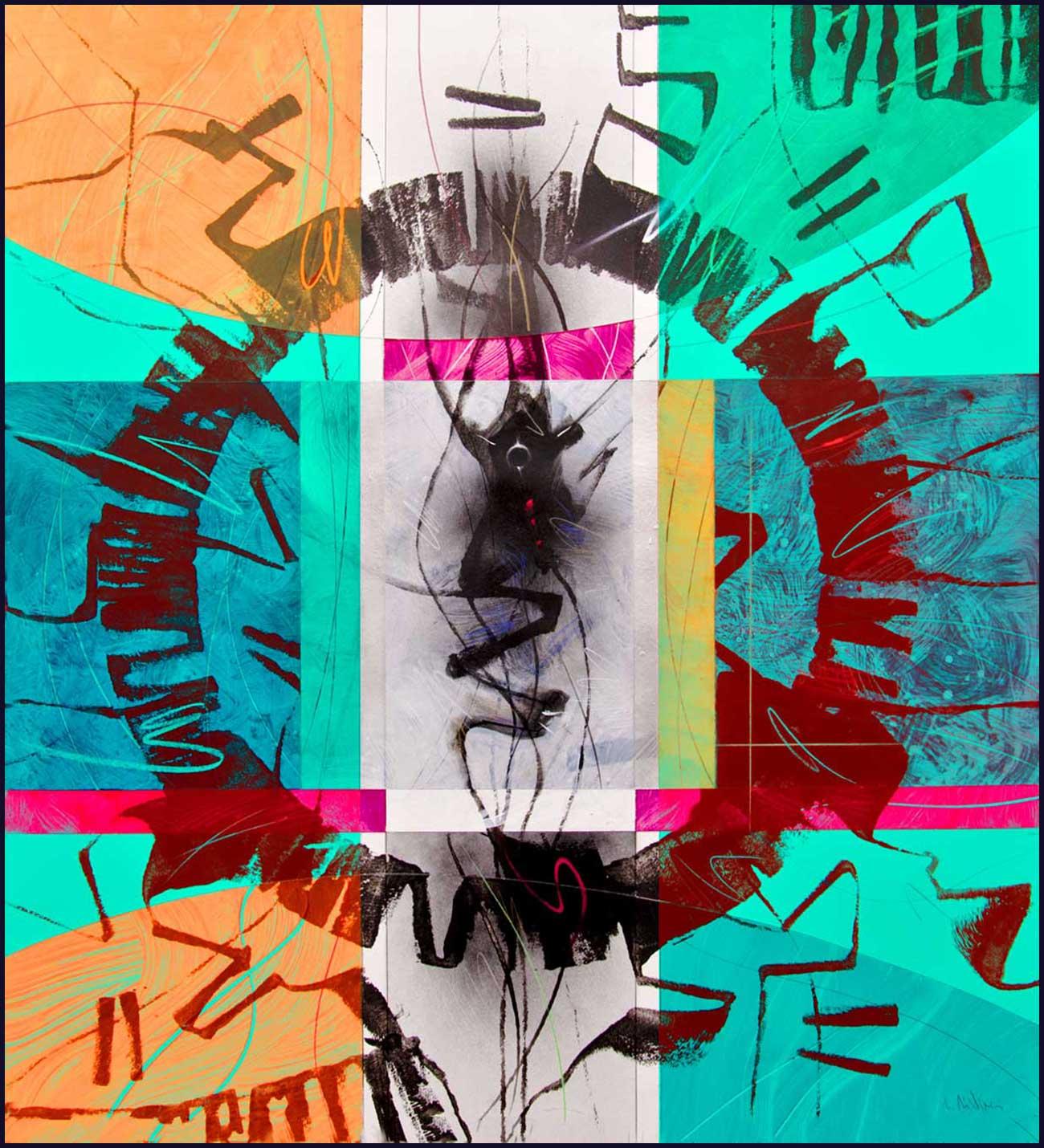 """Circular thinking"" series A3 Format Print N.1"