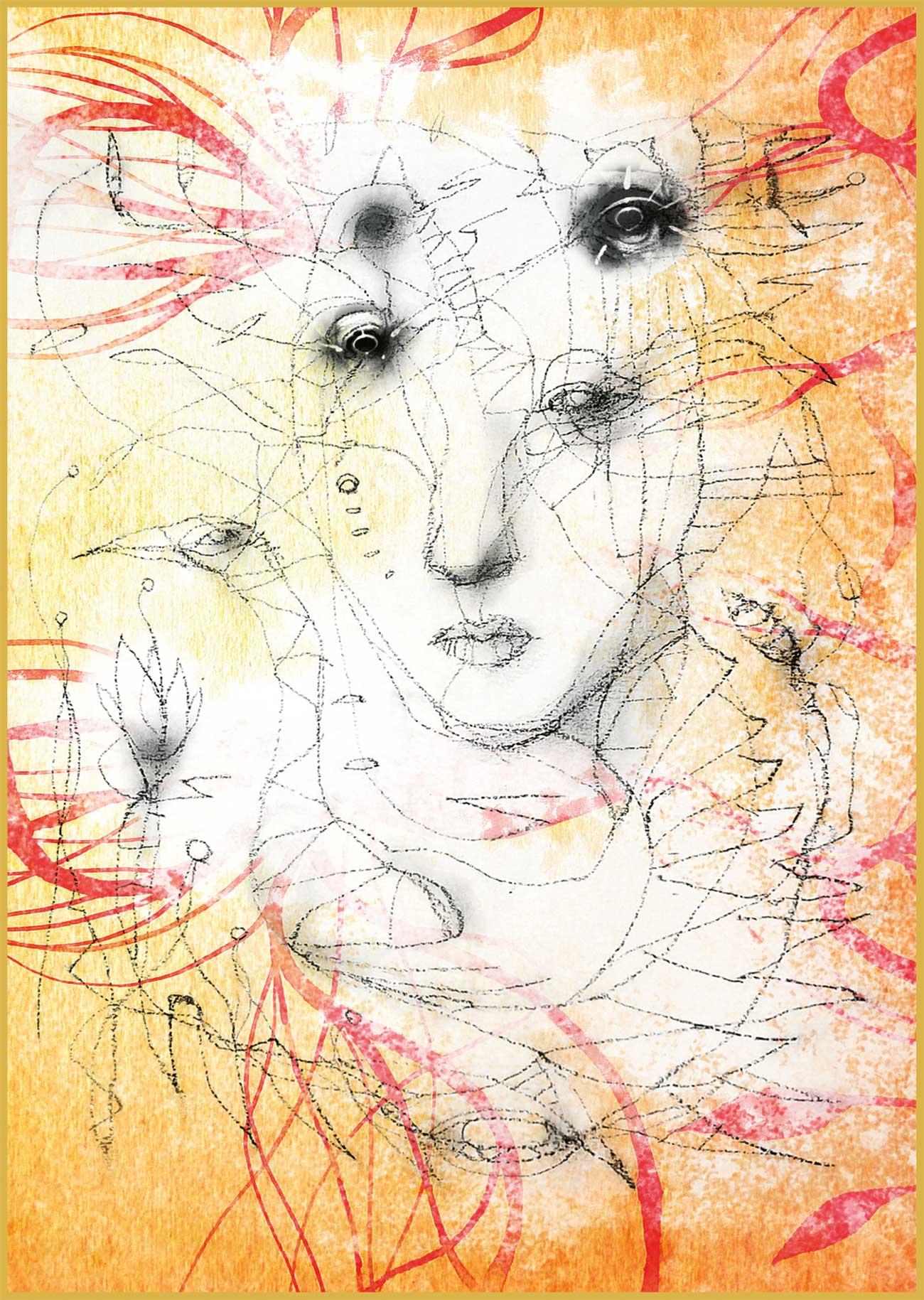 """ Spleen du printemps"" series print N3"