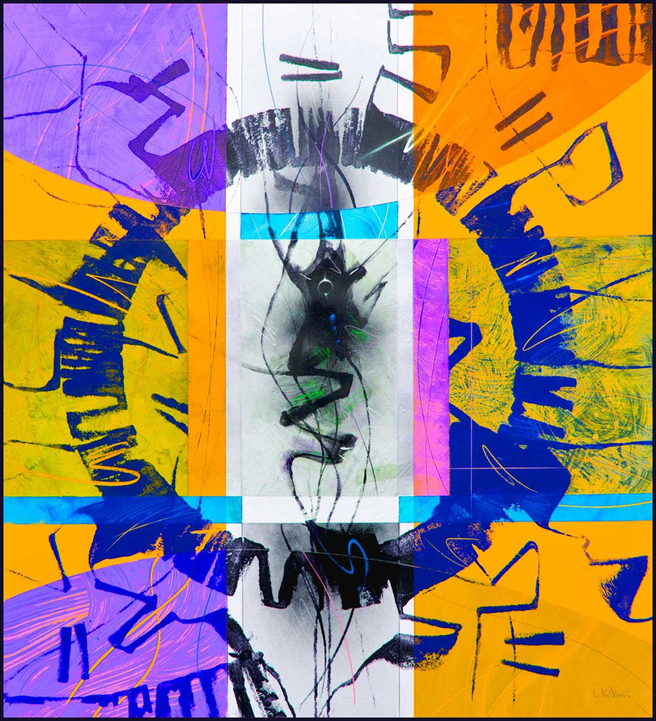 """Circular thinking"" series A3 Format Print N.3"