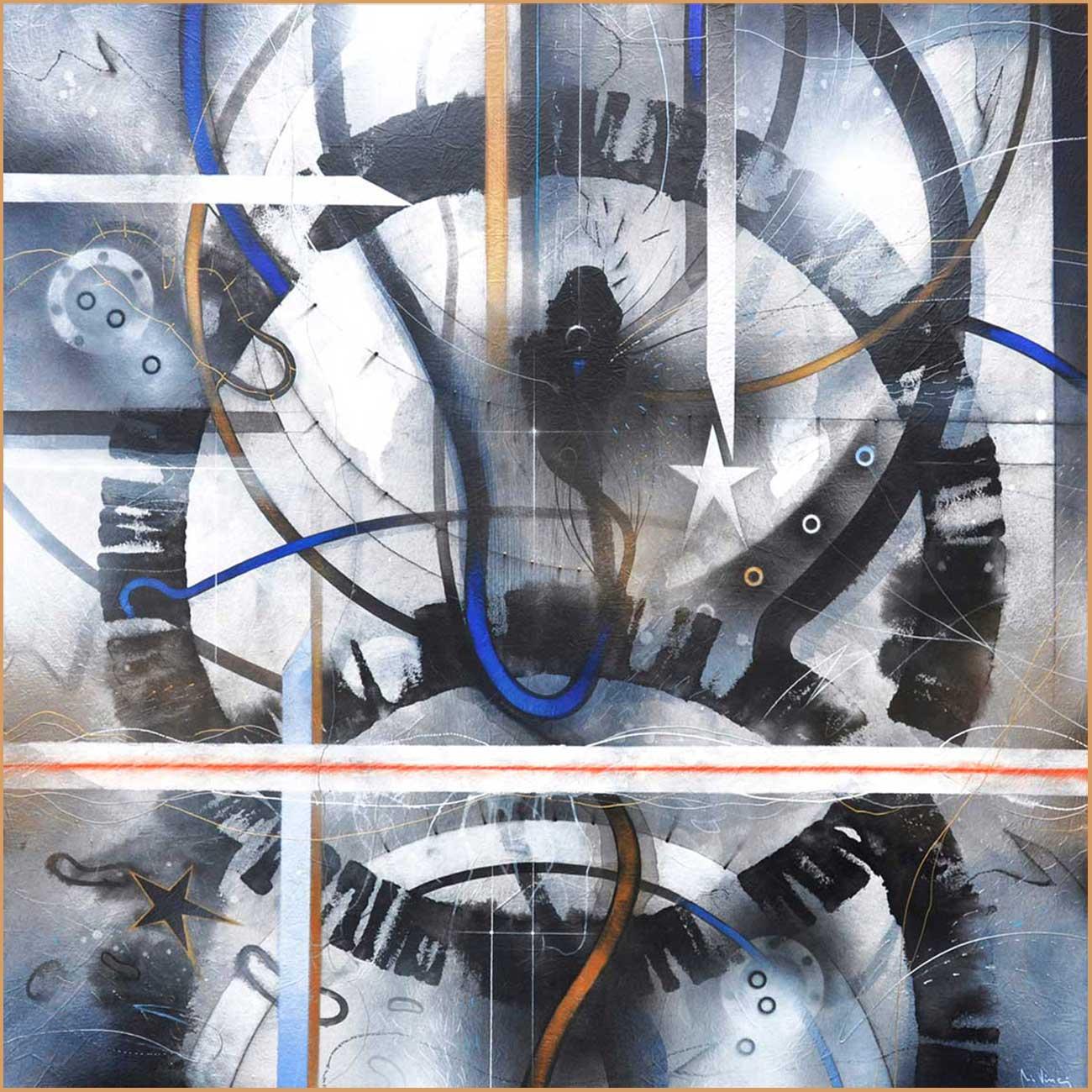 """Circular thinking"" series A3 Format Print N.4"