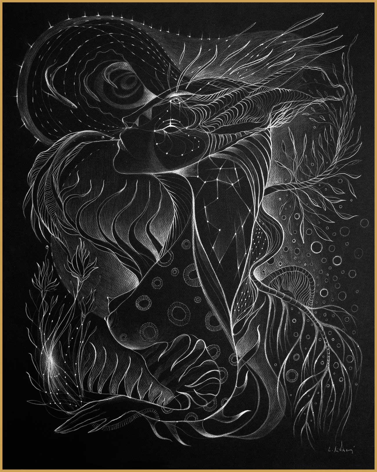 "Prints ""Black Lights"" series A3 Format"