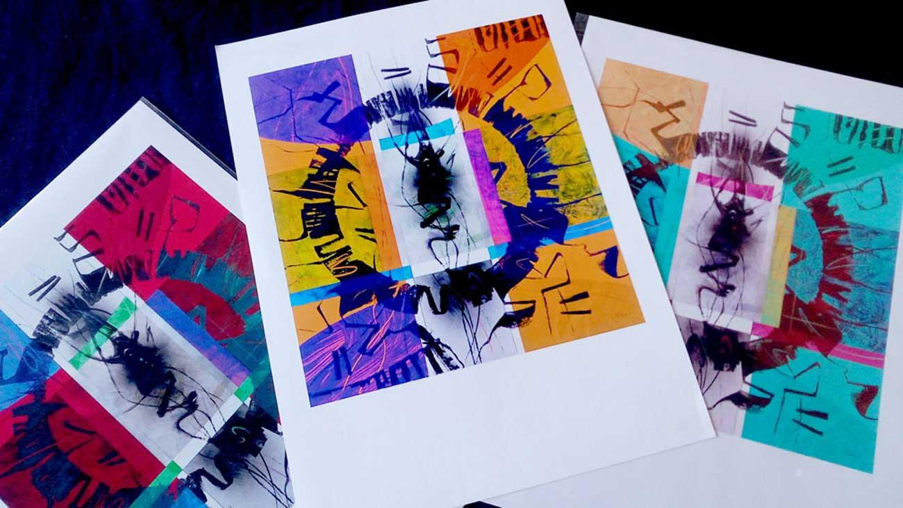 """Prints """"Circular thinking"""" series A3 Format"""