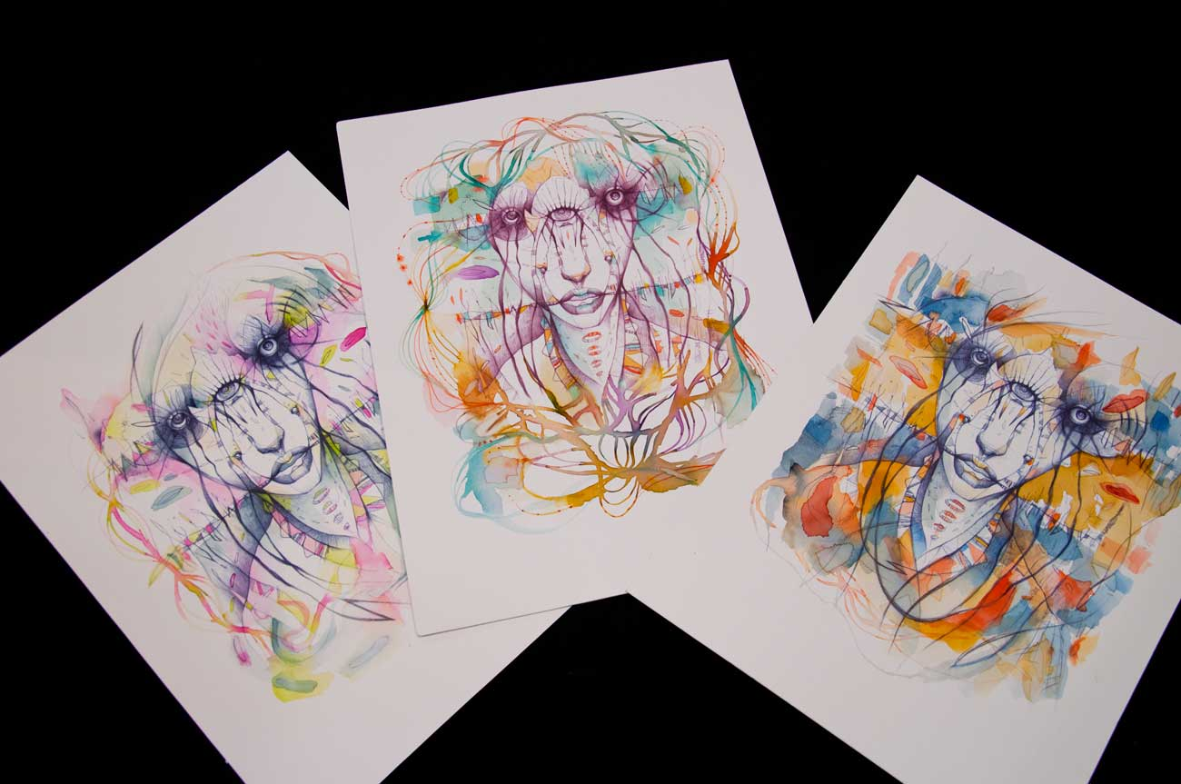 "prints ""Triclopes"" series"