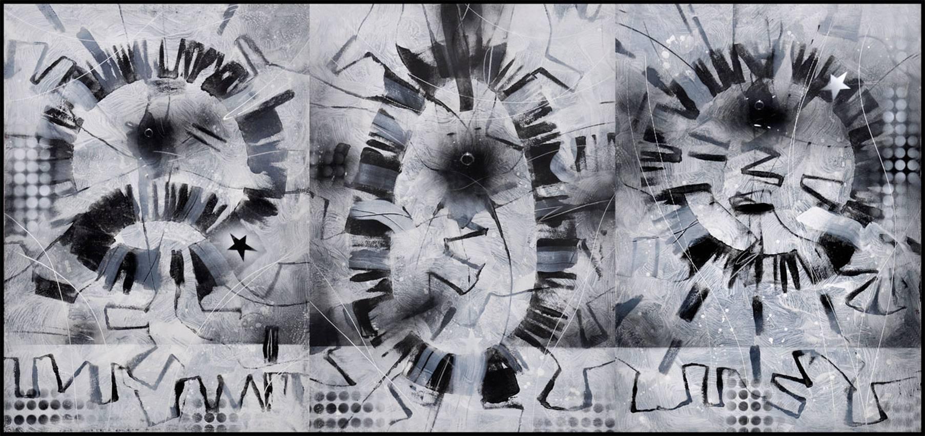 """Amniotic"" acrilyc on cardboard cm200 x cm100 Private collection Genova 2013"