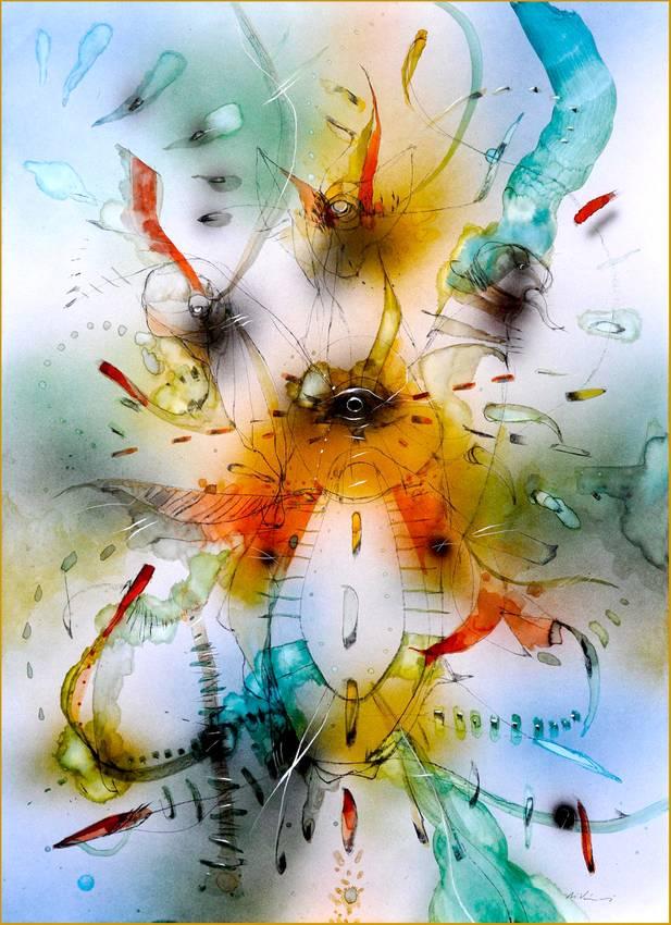 05 -in-assenza-di-gravita-ink-on-paper-cm100x70-2006-