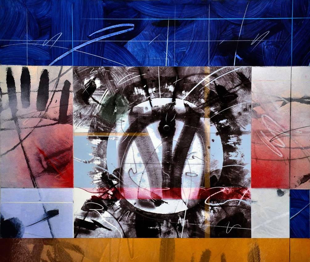 """No Gravity"" (detail) acrilyc on cardboard cm230 x cm80 Private collection Genova 2013"
