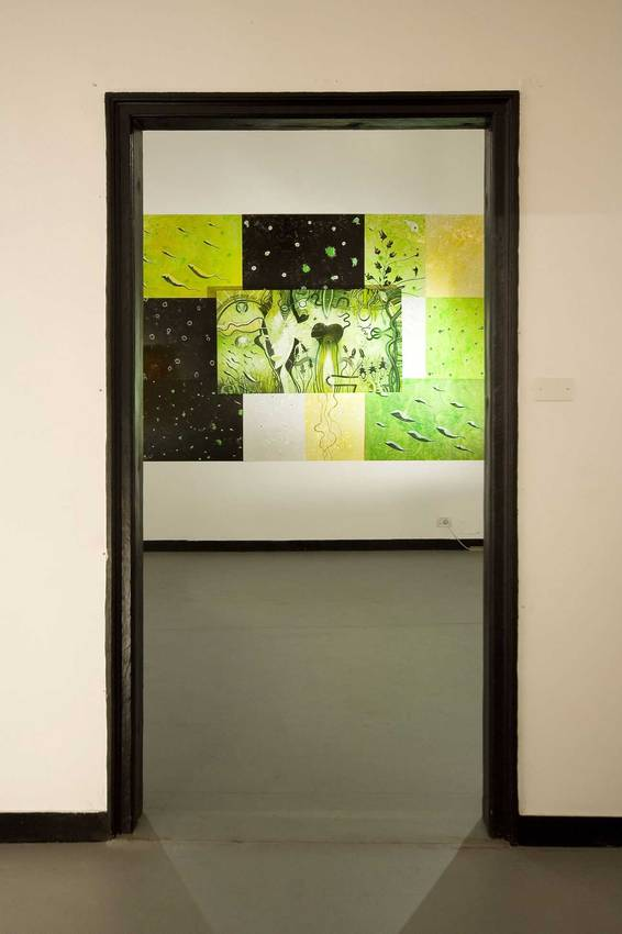 "Exhibition ""as far as possible"" Genova 2008"